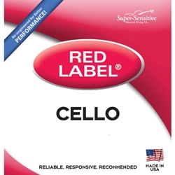 Super Sensitive 6117_SS RED LABEL CELLO A 4/4 MED