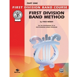 First Division Band Method, Alto Sax, Part 1
