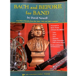 BACH AND BEFORE FOR BAND - Bb TENOR SAX